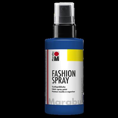 Textiel spray Marabu marine blauw