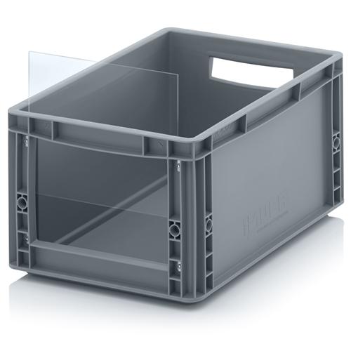 Speelgoedbox klein - gesloten met open voorkant - 40 x 30 x 22 cm
