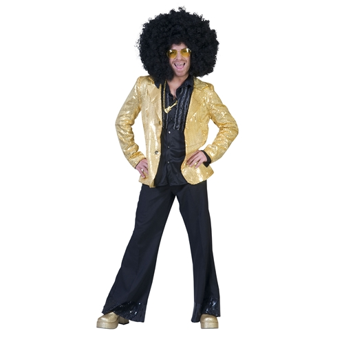 Volledige disco outfit - verrassingsset