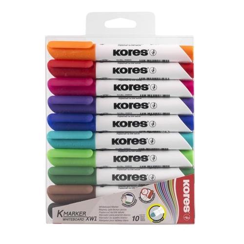 Whiteboard markers kleur (10st)