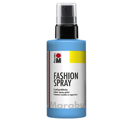 Textiel spray Marabu hemelsblauw
