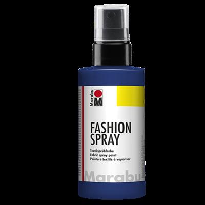 Textiel spray Marabu nacht blauw