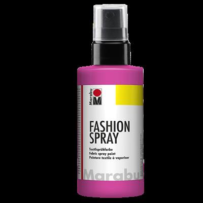Textiel spray Marabu roze
