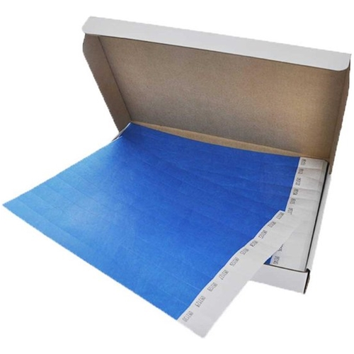 Polsbandjes Tyvek - blauw