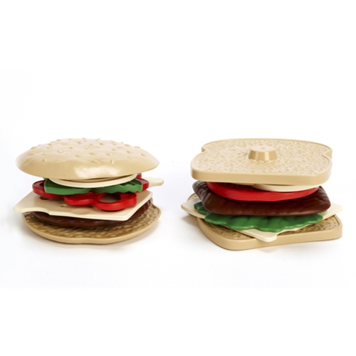 Green Toys hamburger