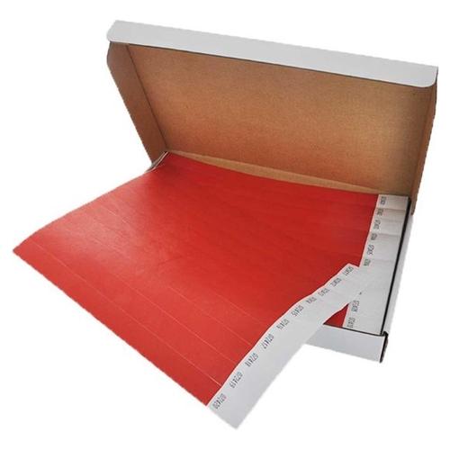 Polsbandjes Tyvek - rood