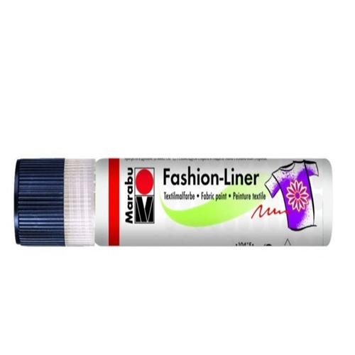 Textielpen Marabu wit