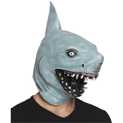 Latex dierenmasker haai