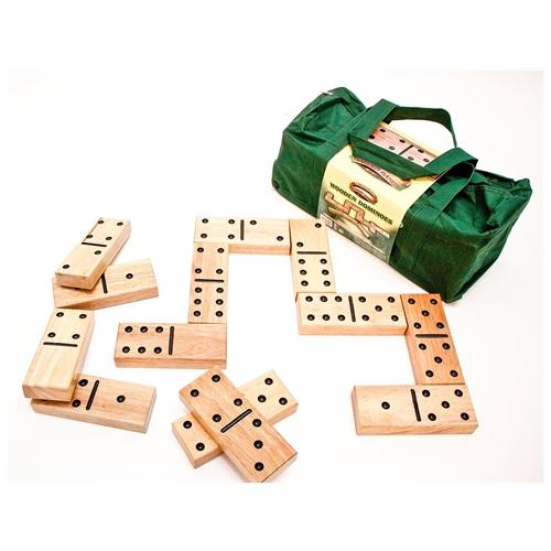 Reuze houten domino