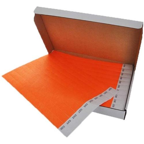 Polsbandjes Tyvek - oranje