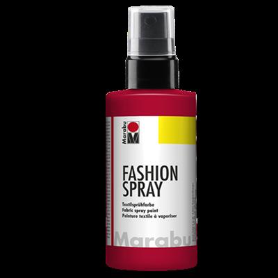 Textiel spray Marabu rood