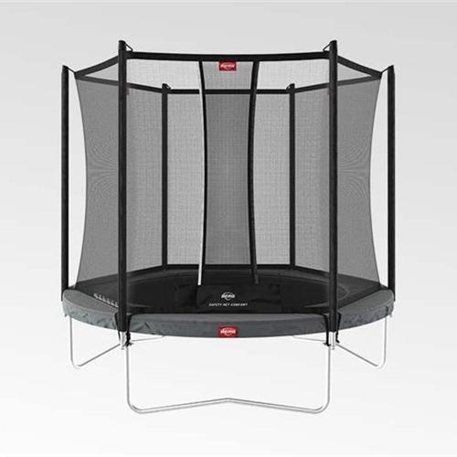 BERG Trampoline Favorit Regular 330 Grey + Safety Net Comfort