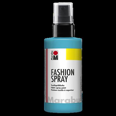 Textiel spray Marabu caraïben blauw