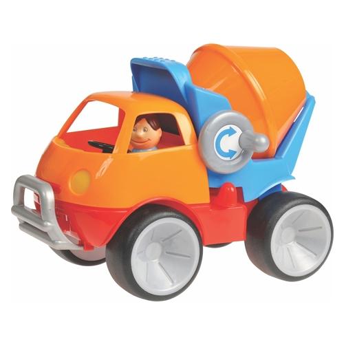 Vrachtwagen betonmixer