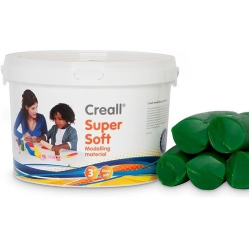 Boetseerpasta Creall Supersoft groen