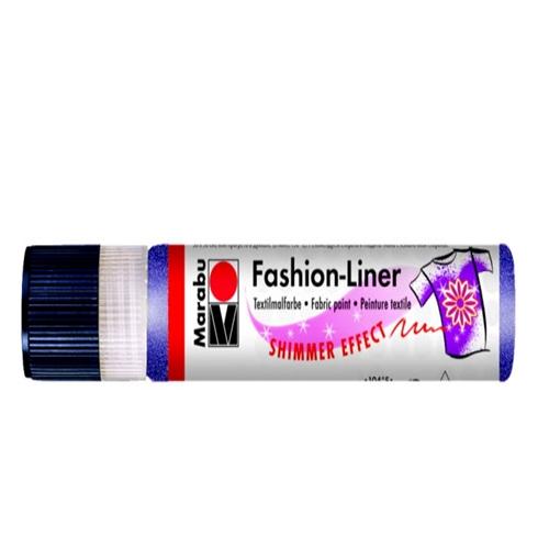 Textielpen Marabu glitter paars
