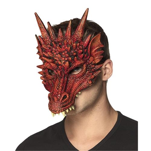 Draak half masker