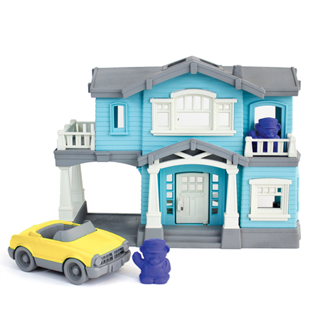 Green Toys huis speelset