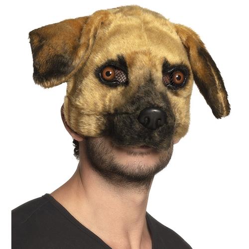 Plush half masker Hond