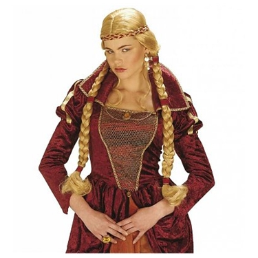 Pruik vikingvrouw