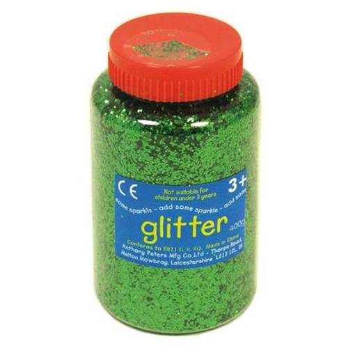 Strooiglitter groen
