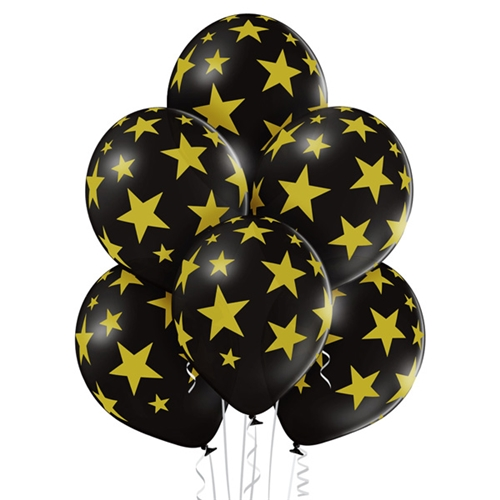 Ballonnen Stars 30 cm - 50 stuks