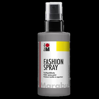 Textiel spray Marabu grijs
