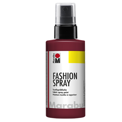 Textiel spray Marabu bordeaux