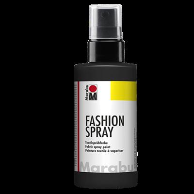 Textiel spray Marabu zwart