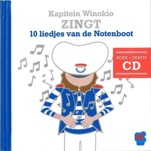 Kapitein Winokio zingt 10 liedjes van de Notenboot